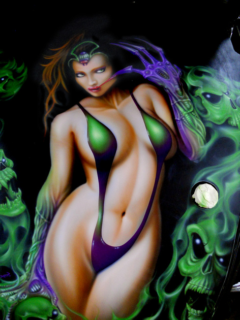 Sexy airbrush nude — pic 10